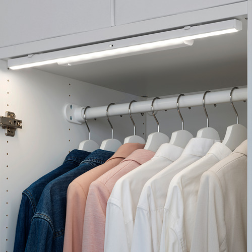 STÖTTA - lampu strip LED kabinet dg sensor, dioperasikan dengan baterai putih, 32 cm | IKEA Indonesia - PE698200_S4