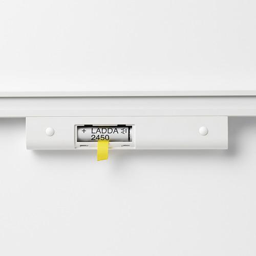 STÖTTA - lampu strip LED kabinet dg sensor, dioperasikan dengan baterai putih, 32 cm | IKEA Indonesia - PE698232_S4