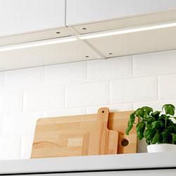 OMLOPP - OMLOPP, lampu meja dapur LED, putih, 80 cm