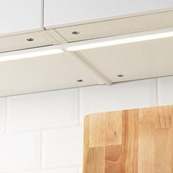 OMLOPP - OMLOPP, lampu meja dapur LED, putih, 60 cm