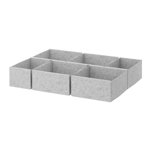 KOMPLEMENT kotak, set isi 6