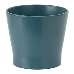 PAPAJA - Pot tanaman, biru tua