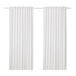 ANNALOUISA - Curtains, 1 pair, white
