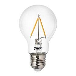 RYET - Bohlam LED E27 100 lumen, bulat bening