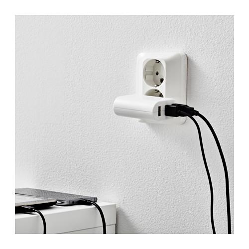 KOPPLA 3-port charger USB