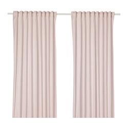 HANNALILL - Curtains, 1 pair, pink