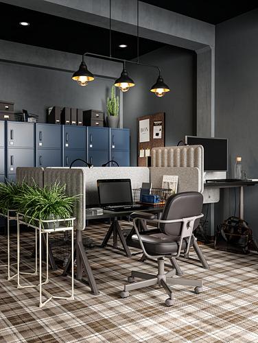 IDÅSEN - meja duduk/berdiri, hitam/abu-abu tua, 120x70 cm   IKEA Indonesia - PH176186_S4