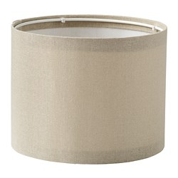 RINGSTA - Lamp shade, beige