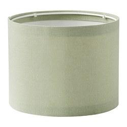 RINGSTA - Kap lampu, hijau muda, 19 cm