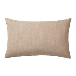 HILLARED - HILLARED, sarung bantal kursi, krem, 40x65 cm
