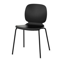 SVENBERTIL - Chair, black/Broringe black