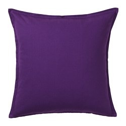 GURLI - Cushion cover, dark lilac