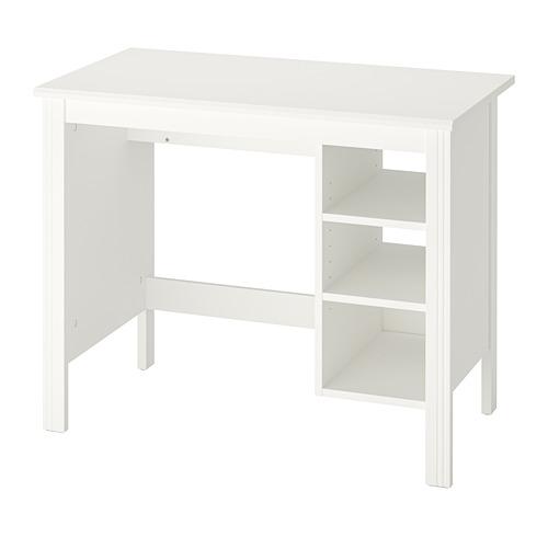 BRUSALI - meja, putih, 90x52 cm | IKEA Indonesia - PE761521_S4