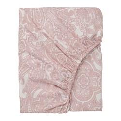 JÄTTEVALLMO - Seprai berkaret, putih/merah muda