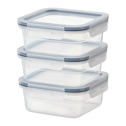 IKEA 365+ - Food container, square/plastic
