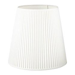EKÅS - Kap lampu, putih pudar