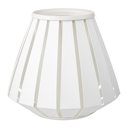 LAKHEDEN - Lamp shade, white
