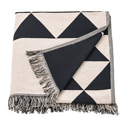 JOHANNE - Throw, black/natural