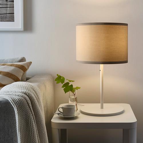 RINGSTA - lamp shade, beige, 33 cm | IKEA Indonesia - PE761583_S4