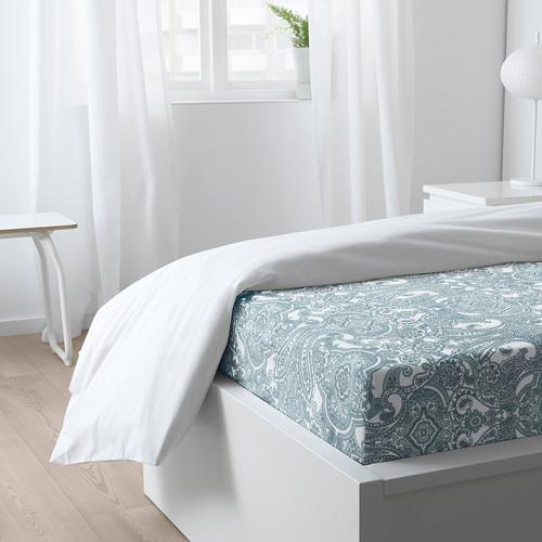 JÄTTEVALLMO fitted sheet