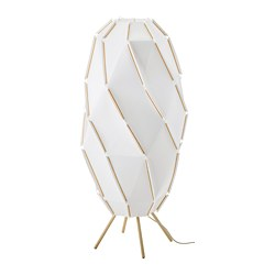 SJÖPENNA - Lampu lantai, putih
