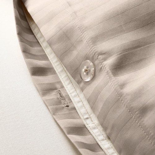 NATTJASMIN sarung quilt dan 4 sarung bantal