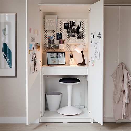 MICKE - meja, putih, 73x50 cm | IKEA Indonesia - PH173304_S4