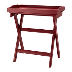 MARYD - Tray table, dark red