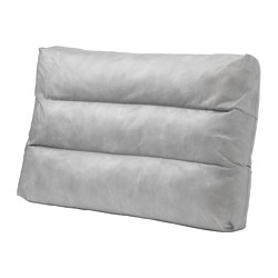 DUVHOLMEN - Inner cushion for back cushion, outdoor grey