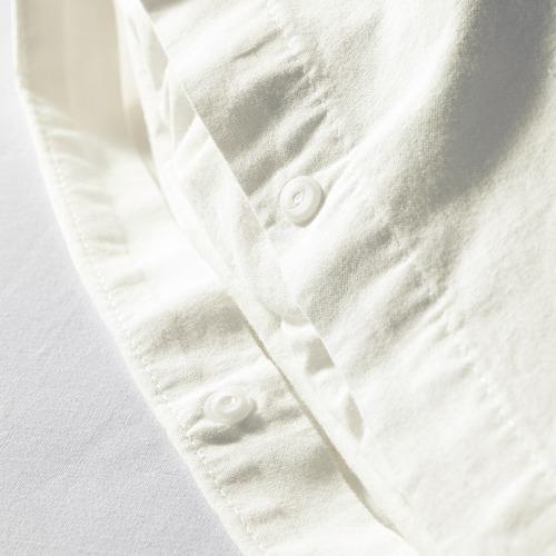 ÄNGSLILJA sarung quilt dan 2 sarung bantal