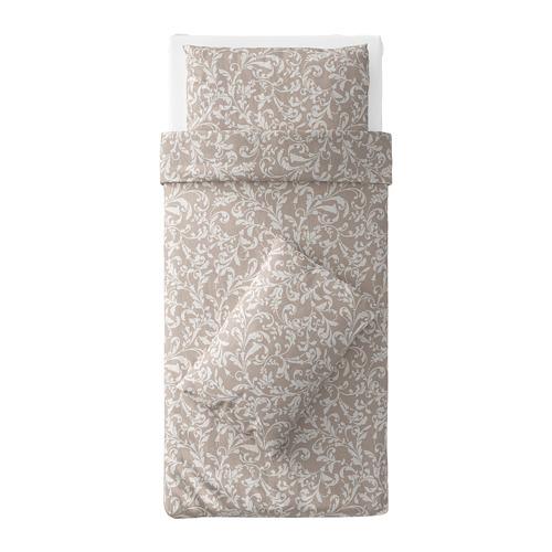 VÅRBRÄCKA sarung quilt dan 2 sarung bantal