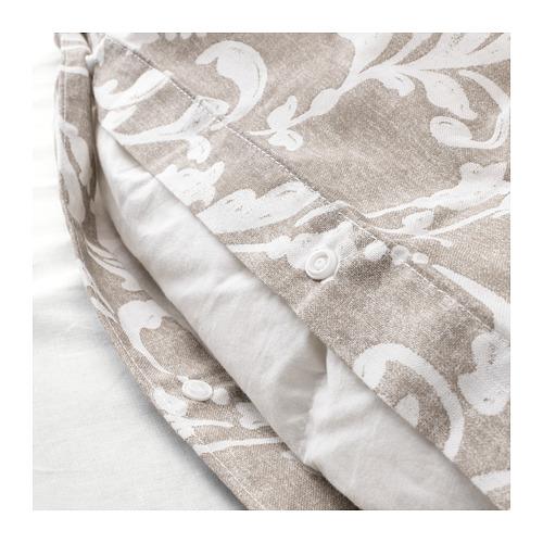 VÅRBRÄCKA sarung quilt dan 4 sarung bantal