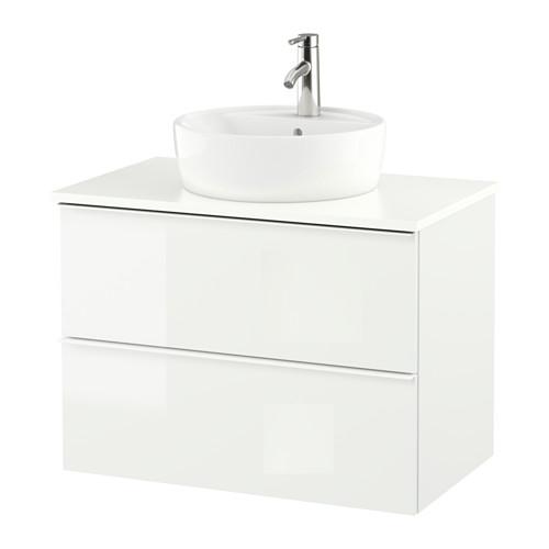 GODMORGON/TOLKEN/TÖRNVIKEN meja wastafel dg meja ukuran 45