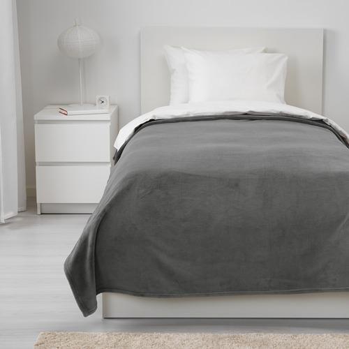 TRATTVIVA - penutup tempat tidur , abu-abu, 150x250 cm   IKEA Indonesia - PE639567_S4