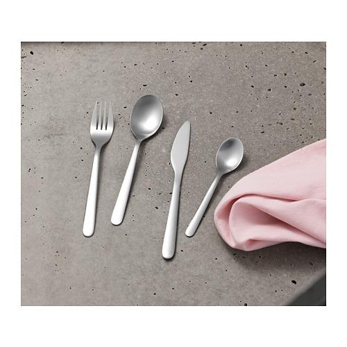 FÖRNUFT peralatan makan, set isi 18