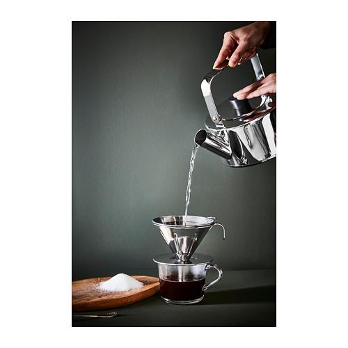 ÖVERST saringan logam u kopi, set isi 3