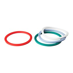 IKEA 365+ - Gasket, round/mixed colours