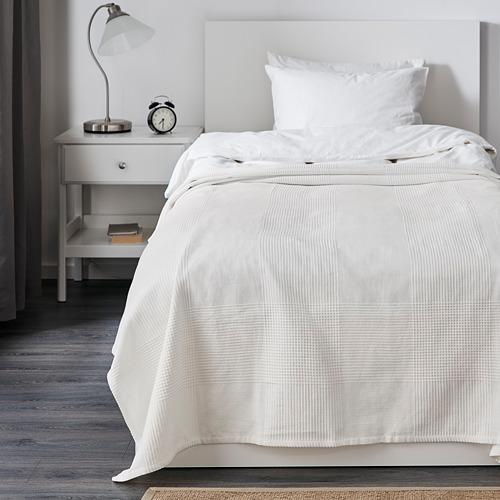 INDIRA - penutup tempat tidur , putih, 150x250 cm | IKEA Indonesia - PE575995_S4