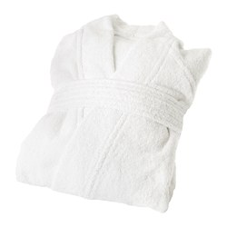 ROCKÅN - Bath robe, white