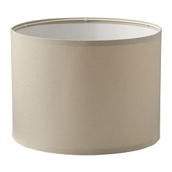 RINGSTA - Lamp shade, beige