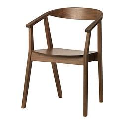 STOCKHOLM - Chair, walnut veneer