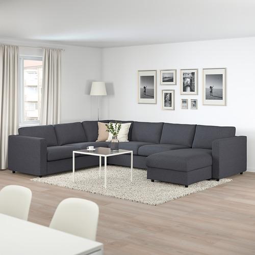 VIMLE corner sofa-bed, 5-seat