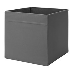DRÖNA - Box, dark grey