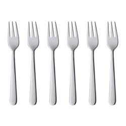 MARTORP - Cake/dessert fork, stainless steel