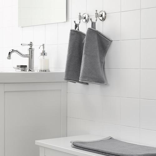 VIKFJÄRD - washcloth, grey, 30x30 cm | IKEA Indonesia - PE681345_S4
