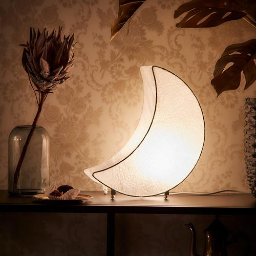 LJUVARE - lampu LED dekorasi, berbentuk bulan putih | IKEA Indonesia - PH176991_S4