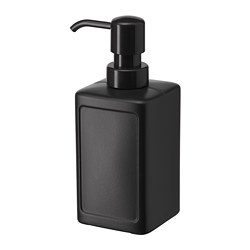 RINNIG - Soap dispenser, grey