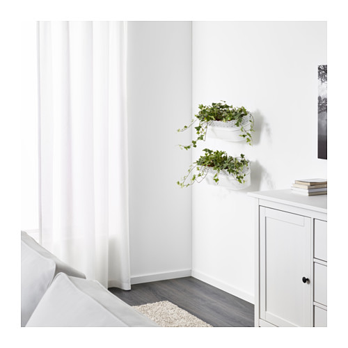 SKURAR kotak bunga dengan penyangga