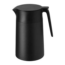 UNDERLÄTTA - Vacuum flask, black
