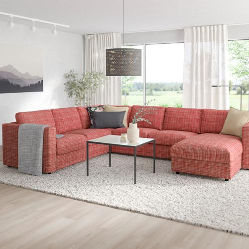 VIMLE sofa tempat tidur sudut, 5 dudukan